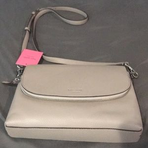 NWT Kate Spade Taupe cross body Bag